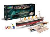 Revell Gift-Set - Plastikový model lodě R.M.S. Titanic - 100th anniversary edition