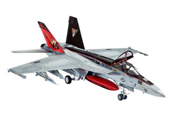 Revell Plastikový model letadla F/A - 18E Super Hornet
