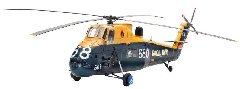 Revell Plastikový model vrtulníku Westland Wessex HAS Mk.3 - Výprodej
