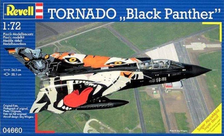 Revell Plastikový model letadla Tornado 'Black Panther'