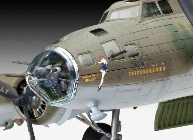 Revell Plastikový model letadla B-17 F Memphis Belle