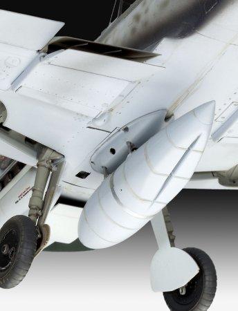 Revell Plastikový model letadla Messerschmitt Bf109 G-6