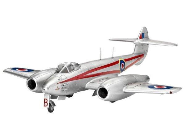 Revell Plastikový model letadla Gloster Meteor Mk. 4