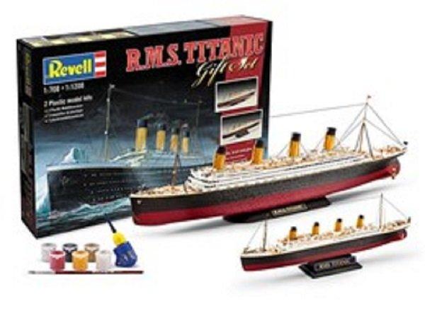 Revell Gift-Set - Plastikový model lodě R.M.S. Titanic