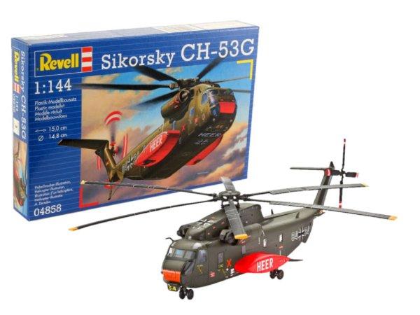 Revell Plastikový model vrtulníku CH-53 G Heavy Transport Helicopter