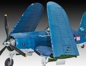 Revell Plastikový model letadla Vought F4U-1A CORSAIR