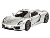 Revell Plastikový model auta Porsche 918 Spyder