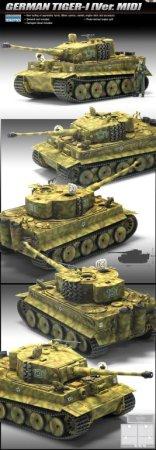 Academy Tiger I Mid. 70th Anniversary
