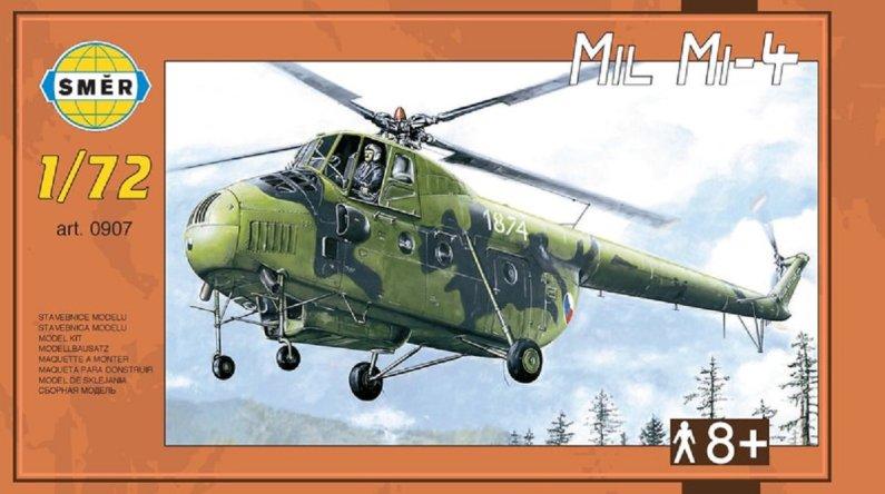 Směr Plastikový model vrtulníku Mil Mi-4
