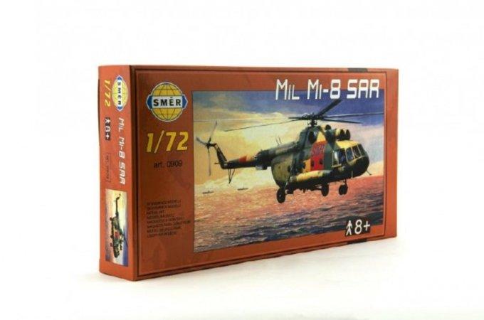 Směr Plastikový model vrtulníku Mil Mi-8 SAR