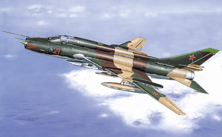 Směr Plastikový model letadla Suchoj Su-17/22 M3