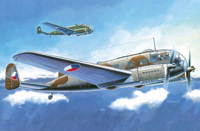 Směr Plastikový model letadla Aero C-3 A/B