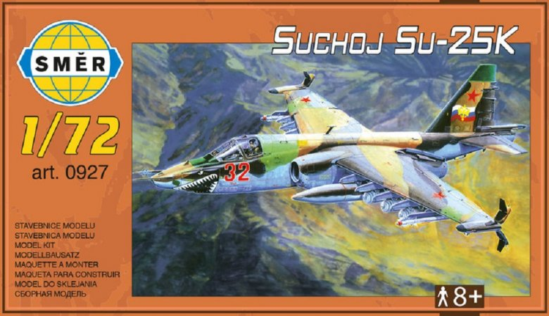 Směr Plastikový model letadla Suchoj Su-25K