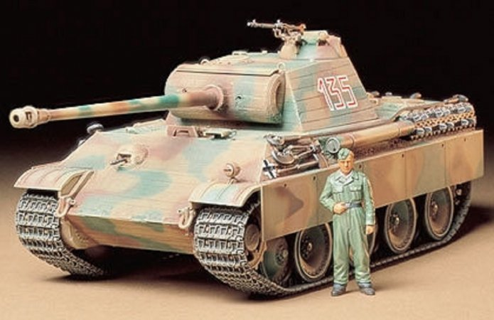 Tamiya Panther Type G Early Version