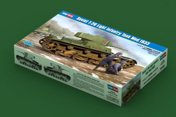 Hobby Boss Soviet T-26 Light Infantry tank model 1933 - Výprodej
