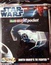 Revell EasyKit - Plastikový model Star Wars Pocket Darth Vaders tie fighter - Výprodej