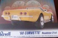 Revell Plastikový model auta '68 Corvette Roadster 2'n1 - Výprodej!