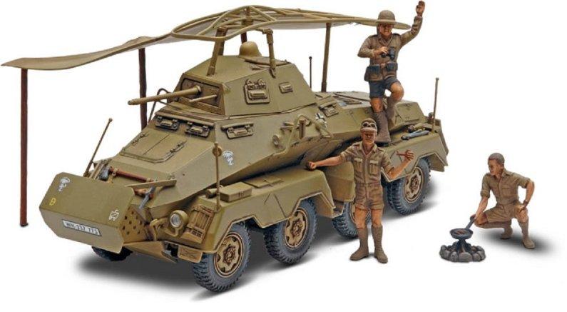 Revell Plastikový model obrněného vozidla Panzerspahwagen SD.KFZ.232 - Výprodej