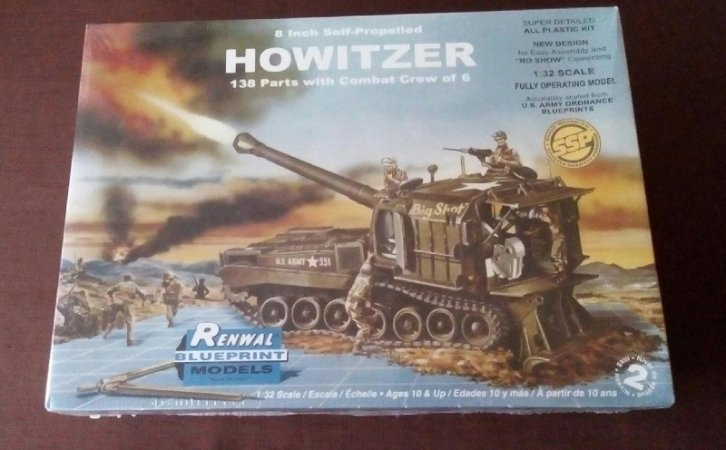 Revell Plastic ModelKit děla - Howitzer - Výprodej