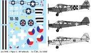 Směr Plastikový model letadla Piper L-4H