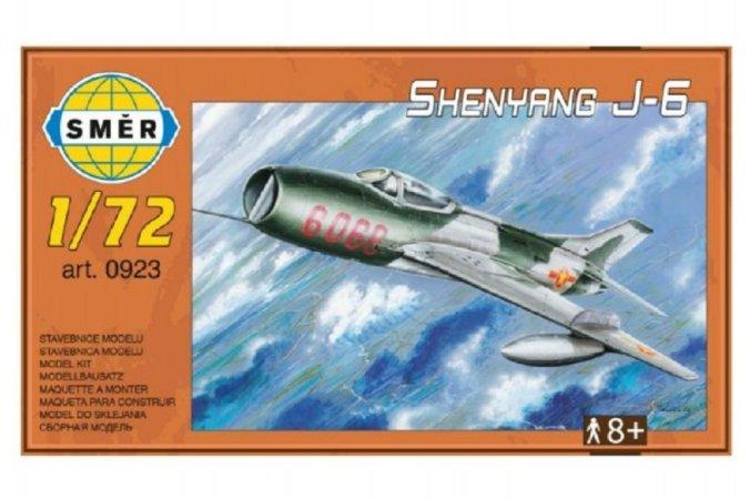 Směr Plastikový model letadla Shenyang J-6