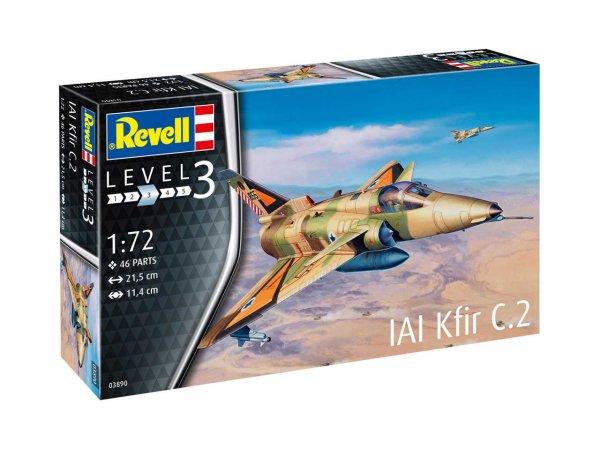 Revell Plastikový model letadla Kfir C-2