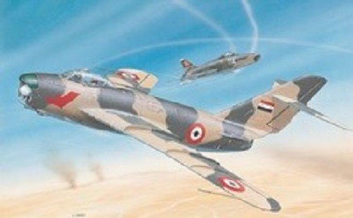 Směr Plastikový model letadla MiG-17PF