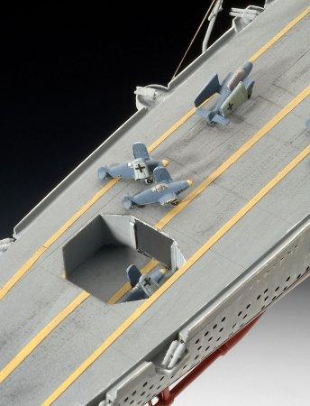 Revell Plastikový model lodě German Aircraft Carrier GRAF ZEPPELIN