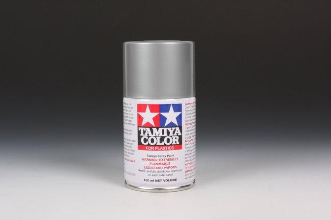 Tamiya Barva ve spreji lesklá - Stříbrná (Gloss Aluminum) TS-17