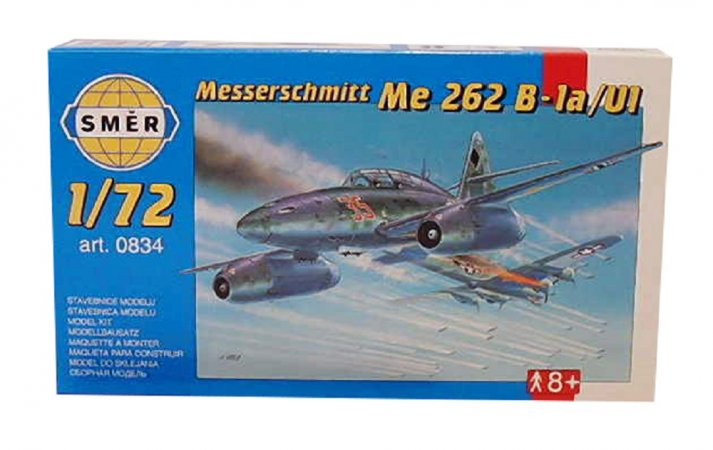 Směr Plastikový model letadla Messerschmitt Me 262 B-1a/U1