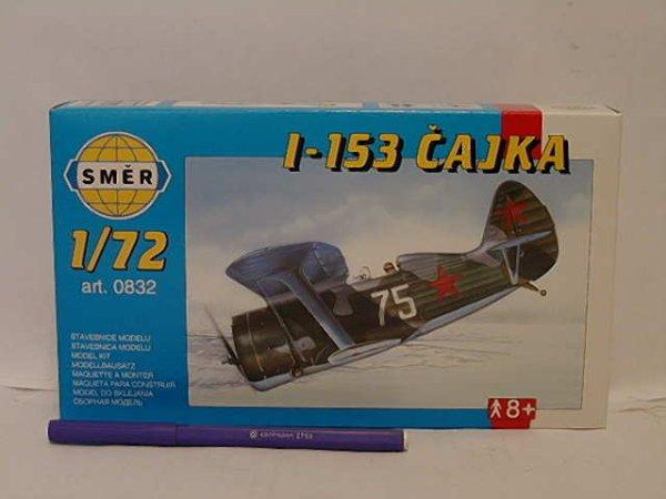 Směr Plastikový model letadla Polikarpov I-153 Čajka