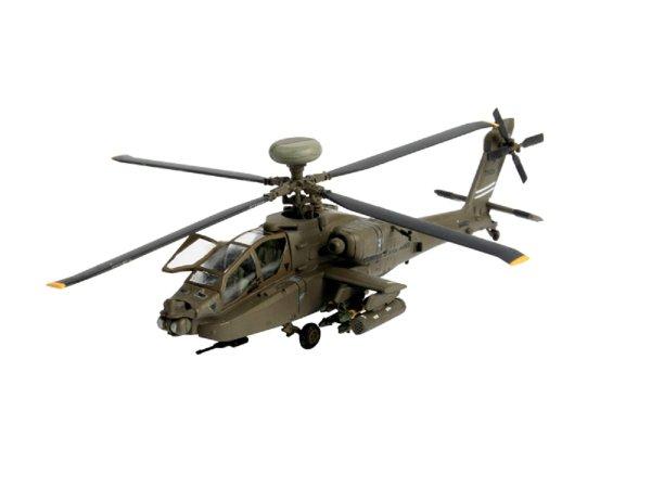 Revell ModelSet - Plastikový model vrtulníku AH-64D Longbow Apache