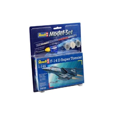 Revell ModelSet - Plastikový model letadla F-14 D Super Tomcat