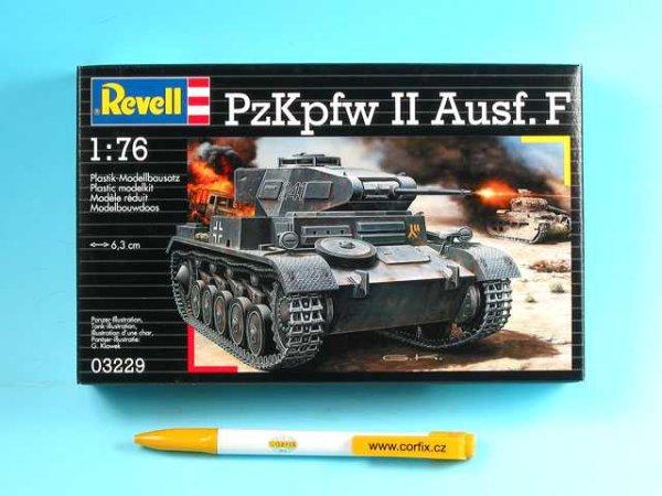 Revell Plastikový model tanku PzKpfw II Ausf. F