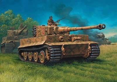 Revell PzKpfw VI 'Tiger' I Ausf. E - Výprodej