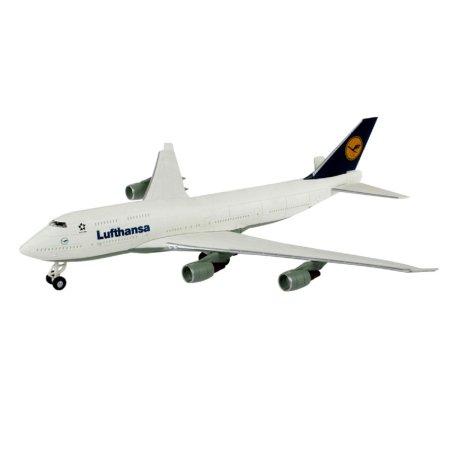 Revell EasyKit - Plastikový model letadla Boeing 747 'Lufthansa'