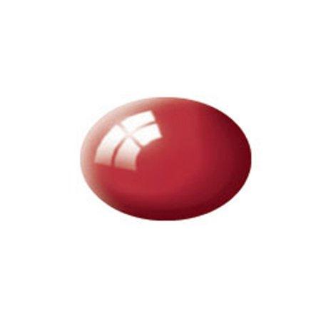 Revell Barva akrylová lesklá - Ferrari červená (Ferrari red) - č. 34