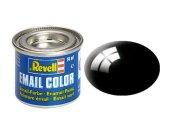 Revell Barva emailová lesklá - Černá (Black) - č. 07