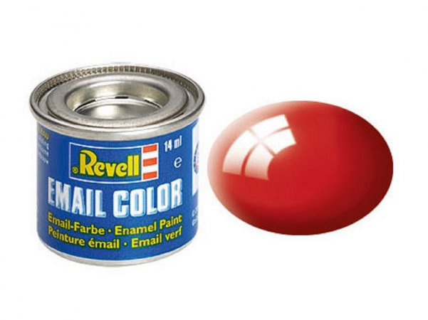 Revell Barva emailová lesklá - Ohnivě rudá (Fiery red) - č. 31