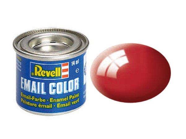 Revell Barva emailová lesklá - Ferrari červená (Ferrari red) - č. 34