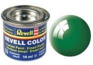 Revell Barva emailová lesklá - Smaragdově zelená (Emerald green) - č. 61