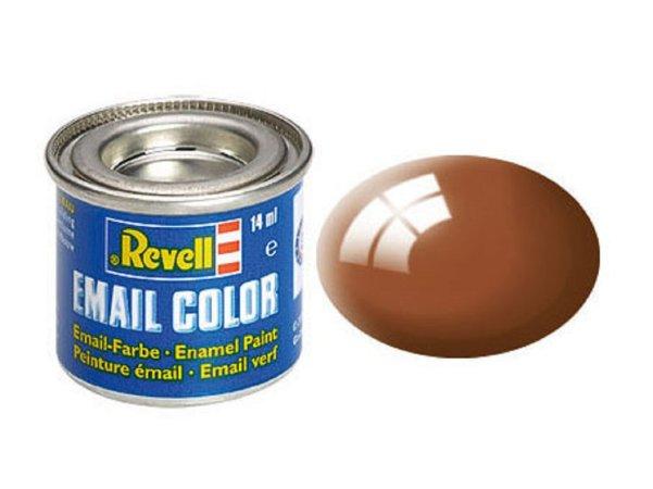 Revell Barva emailová lesklá - Blátivě hnědá (Mud brown) - č. 80