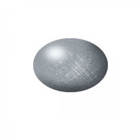 Revell Barva akrylová metalická - Ocelová (Steel) - č. 91