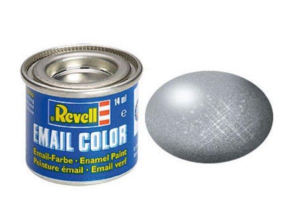 Revell Barva emailová metalická - Ocelová (Steel) - č. 91
