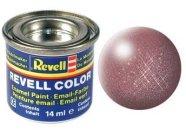 Revell Barva emailová metalická - Měděná (Copper) - č. 93
