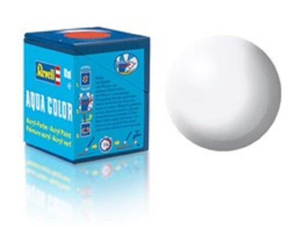 Revell Barva akrylová hedvábně matná - Bílá (White) - č. 301
