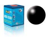 Revell Barva akrylová hedvábně matná - Černá (Black) - č. 302