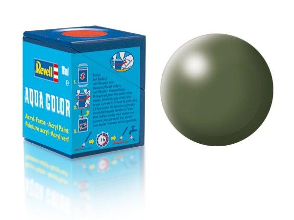 Revell Barva akrylová hedvábně matná - Olivově zelená (Olive green) - č. 361