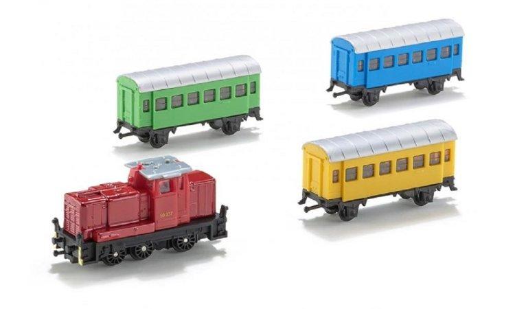 SIKU  Železniční sada - 4 ks