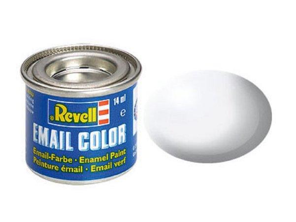 Revell Barva emailová hedvábně matná - Bílá (White) - č. 301